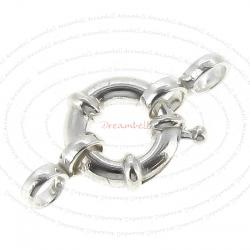 1x 925 Sterling Silver Jumbo Lobster Spring Clasp 10.5mm