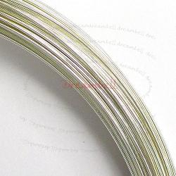 5FT  SILVER Filled .925 Round WIRE 26GA Half Hard 26 Gauge 0.4mm