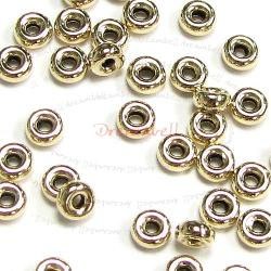 10x 14k Gold Filled Rondelle Bead Spacer 4mm