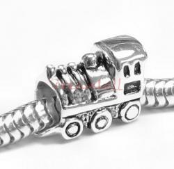 Sterling Silver CUTE TRAIN TRAM CAR Bead for European Charm Bracelets