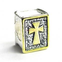 14k gold  925 Sterling Silver HOLY BIBLE Bead for European  charm Bracelet