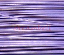 5 Meter VIOLET Lavender TIGER TAIL BEADING TIGERTAIL WIRE 0.4mm