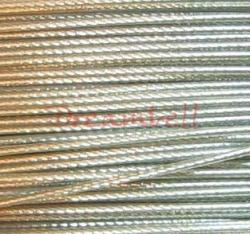 5 Meter CLEAR TIGER TAIL BEADING TIGERTAIL WIRE 0.4mm