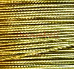 5 Meter GOLD TIGER TAIL BEADING TIGERTAIL WIRE 0.3mm