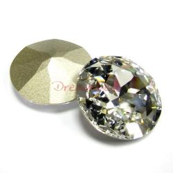 1x Swarovski Elements Cabochon Round Stone Crystal 1201 Clear 27mm