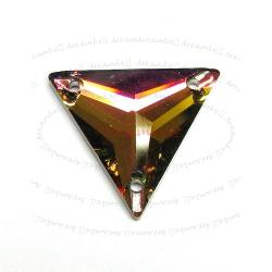 Swarovski Elements Crystal 3270 Vitrail Medium Sew-on Triangle 22mm
