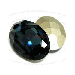 1x Swarovski Elements Oval Cabochon Stone Crystal 4127 Montana 30mm x 22mm