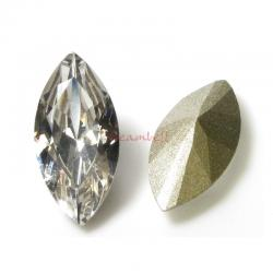 4x Swarovski Elements Crystal Antique Navettes Stone Crystal 4231 Clear Folied 15mm