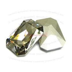 1x Swarovski Elements Octagon Cabochon Stone Crystal 4627 Silver Shade 27mm x 18.5mm