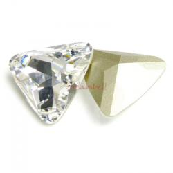 1x Swarovski Elements Triangular Cabochon Stone Crystal 4727 Clear 23mm