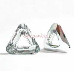 1x Swarovski Elements 4737 Comsic Triangle Frame 14mm Clear CAL