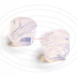 12x Swarovski Elements 5020 Rose Water Opal Helix Crystal Elements 6mm