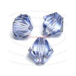 24x Swarovski Elements 5328 5301 Xilion Crystal 4mm Bead Provence Lavender