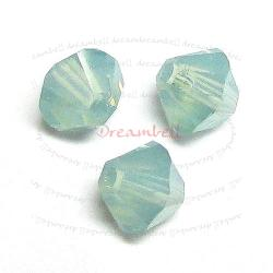 24 Swarovski Elements Crystal Xilion 5328 Pacific Opal 6mm