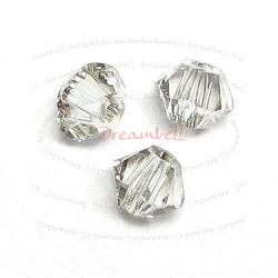 72x Swarovski Elements Xilion Crystal 5328 Silver Shade 3mm