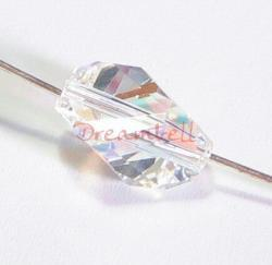4x Swarovski Elements Crystal 5650 12mm Clear AB