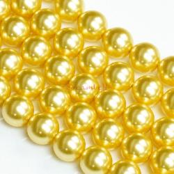 50x Swarovski Elements Crystal Pearls 5810 Round Gold 4mm