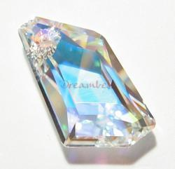 Swarovsk Elements Crystal Polygon 6670 Pendant 24mm New