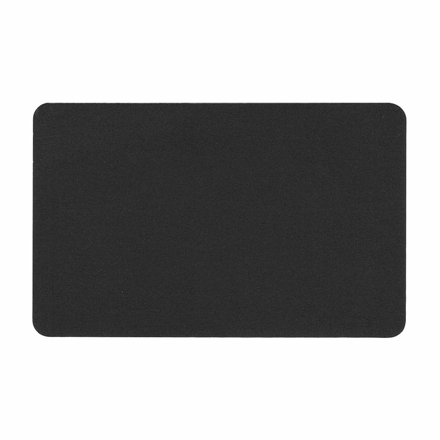Anodized Aluminum Metal Business Cards Wallet Insert Id Blank for Custom Laser Engraving DIY Gift Card Black