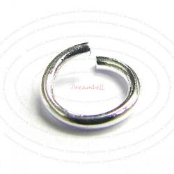 20 Sterling Silver Open 21 ga (Gauge)  5mm Jump Rings