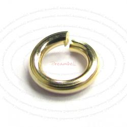 10x 14K Gold Filled  Open Jump Rings 5mm 18 gauge Wire
