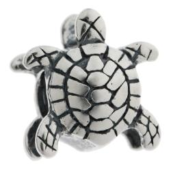 1x Sterling silver Turtle Bead for European Charm Bracelets