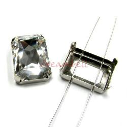 4x SWAROVSKI CRYSTAL 4627 4 hole Sew on Setting 27mm