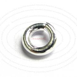 10x Open Jump Rings 925 Sterling Silver Wire 5mm (HEAVY)