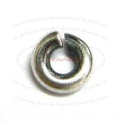6x Open Jump Rings 925 Sterling Silver Wire 5mm (HEAVY)