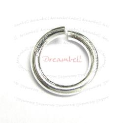4x Sterling Silver Open Jump Rings Wire 15ga 8mm (HEAVY) 15 Gauge