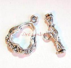 1x Sterling silver Luxuary  Classic Toggle Clasp