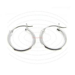 2x Sterling Silver Hoop Chandelier Earrings for European Dangle Bead Charm