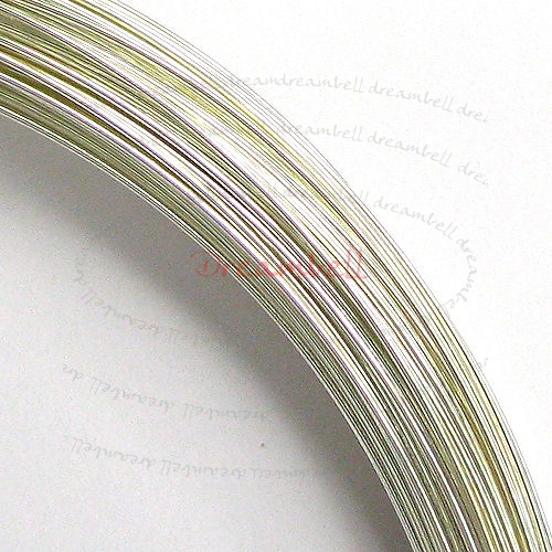 5FT  SILVER Filled .925 Round WIRE 24GA Half Hard 24 Gauge 0.5mm