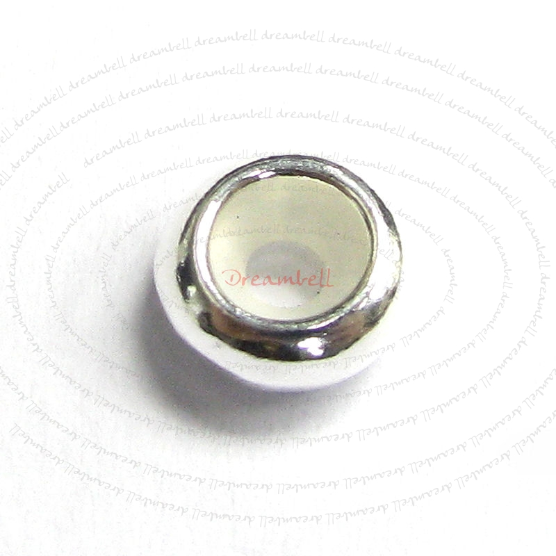 Sterling Silver Ring STOPPER RUBBER for European Charm Bracelets  Bracelet