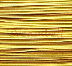 5 Meter M. GOLD TIGER TAIL BEADING TIGERTAIL WIRE 0.4mm